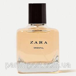 ZARA Oriental EDT 100 ml TESTER  туалетная вода женская (оригинал подлинник  Испания)