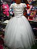 Белое бальное платье для девочки до 5 - 8 лет