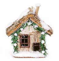 Новогодний декор Домик 15см BonaDi NY27-H14