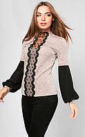 Кофта женская Виолетта 852 (2 цв), женская кофта блузка, нарядная женская кофточка, дропшиппинг