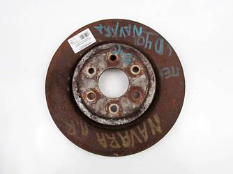 Диск тормозной передний D320 Nissan Navara (D40) 05-13 (Навара)  402063X00B