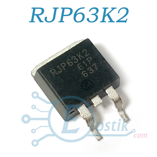 RJP63K2, IGBT транзистор N Channel, 630V 35A, TO263