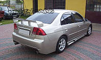 БАМПЕР ЗАДНИЙ HONDA CIVIC 01-05