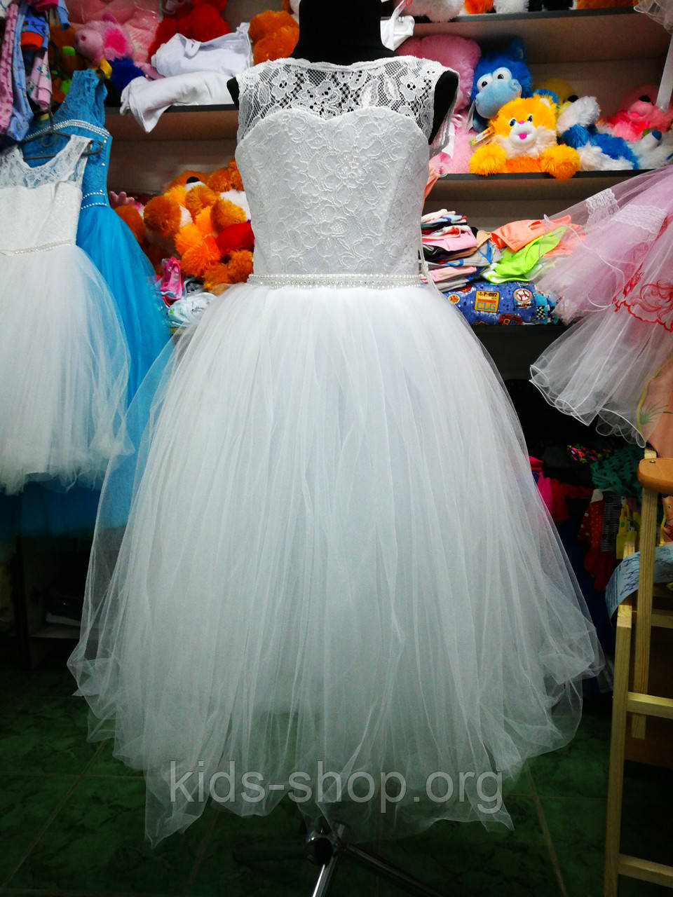 0e0c9e2998f Белое бальное платье для девочки до 4 до 8 лет - Kids shop в Черниговской  области