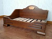 """Деревянная кровать для животных """"Персона"""" . Массив дерева - сосна, ольха, береза, дуб."""