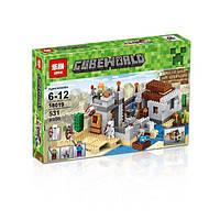 """Конструктор Lepin (аналог Lego Minecraft 21121) """"Пустынная станция"""""""