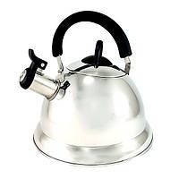 Чайник для кипячения воды Fissman ARMAN 3.0 л (Нержавеющая сталь)