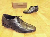 Мужские кожаные туфли броги