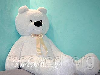 Огромный белый медведь 200 см (большой мишка 2 м)