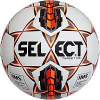 Мяч футбольный SELECT Target DB IMS (403) бел/оранж/черн размер 5