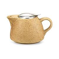Чайник заварочный с ситечком Fissman 1 л (Керамика), фото 1