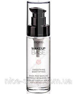 Основа-база под макияж разглаживающая матирующая - Ingrid Cosmetics Smoothing&Mattifying, фото 2