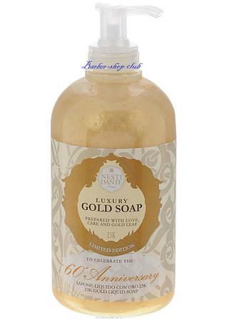 Гель для душа Gold Nesti Dante Italy 500ml.