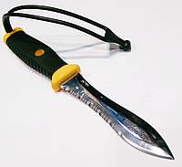 Нож для подводной охоты Pelengas Волга; серейтор/прямая заточка