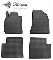 Chery Tiggo Т21 2014- Комплект з 4-х ковриків Чорний в салон. Доставка по всій Україні. Оплата при отриманні