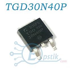 TGD30N40P, Транзистор IGBT, 400В 60А, TO-252