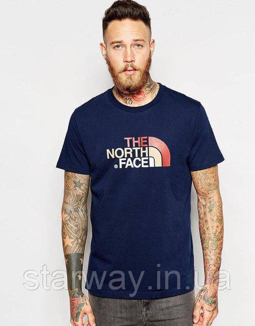 Футболка The North Face logo | Стильная