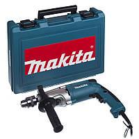 Двухскоростная ударная дрель Makita HP2050H