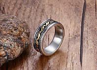 Мужское кольцо-ретро стиль (нерж.сталь 316L)