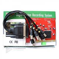 Плата видеозахвата DVR PC 9300-8 каналов, Pentium IV 2000 МГц, PCI 2.1, NTSC / PAL, Connexant878A, TCP / IP, Плата DVR PC 9300-8 каналов