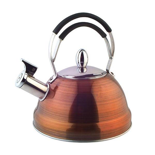 Чайник для кипячения воды Fissman CAIRO 2.3 л (Нержавеющая сталь)