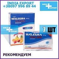 Sweet Viagra MALEGRA ORAL JELLY   Sildenafil 100 mg   7 шт   Сладкая Желе Гель