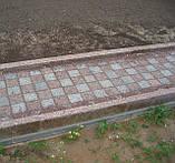 Демонтаж бордюр и установка гранитных бордюров , фото 2
