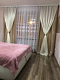 Готовые шторы из плотной ткани., фото 3