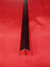 Уголок алюминиевый  черный  10*10*1 мм  RAL 9005 мат