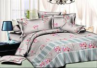 Комплект постельного белья полуторный, ранфорс 100% хлопок. Постільна білизна. (арт.8915)