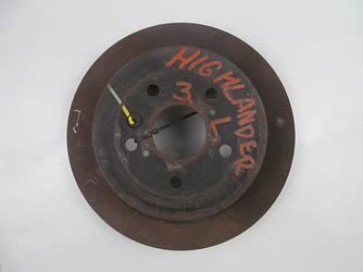 Диск тормозной задний D309 Toyota Highlander (XU40) 07-13 (Тойота Хайлендер)  4243148060