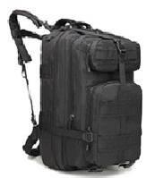 Туристический (тактический) рюкзак на 45 литров RVL A12- черный, фото 1