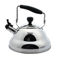 Чайник для кипячения воды Fissman PARIS 2.7 л (Нержавеющая сталь)