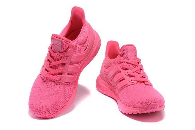Кроссовки женские Adidas ULTRA BOOST розовые, фото 2