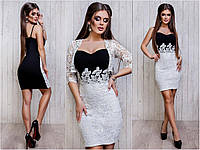 Женское нарядное платье  с болеро Le21
