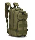 Туристичний (тактичний) рюкзак на 25 літрів RVL B02-оліва