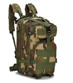 """Туристичний (тактичний) рюкзак на 25 літрів RVL B02-камуфляж """"Нато"""""""