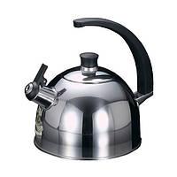 Чайник для кипячения воды Fissman GLASGOW 2.5 л (Нержавеющая сталь)