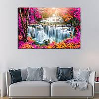Картина - водопад Тайланд