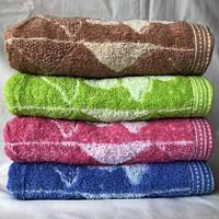 БАННОЕ махровое полотенце. Махровые полотенца оптом 141-1