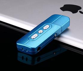 MP3 плеер темно синий  с USB + карта памяти + кардридер 3 в 1