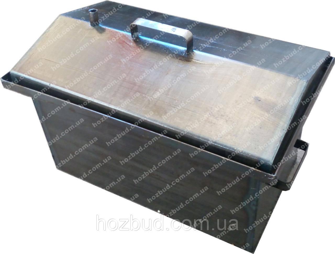 Коптильня с гидрозатвором (520х310х280, 2мм)