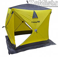Палатка зимняя Fishing ROI Куб (1,5х1,5м) yellow-grey