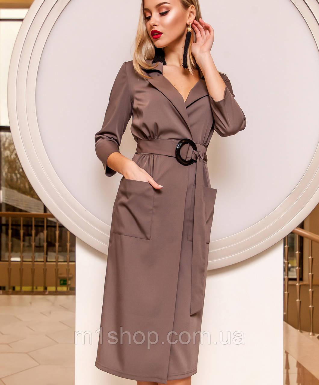 a979d2f71b99c44 Женское деловое платье назапах (Кейси jd) купить недорого Украина ...