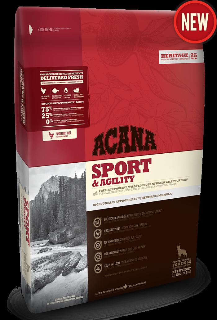 Сухой корм Acana Sport&Agility 11.4кг