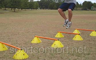 Футбольний конус з отворами для поперечини