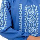 Сорочка вышиванка Орнамент (джинс), фото 4