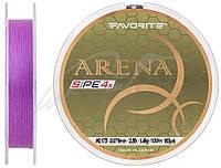 Шнур Favorite Arena PE 4x 150м (purple) #0.175/0.071 3.5 mm lb/1.4 kg