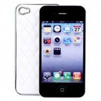 Белый чехол Minjes Hermes для iPhone 4/4S