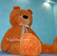 Большой карамельный медведь 200 см